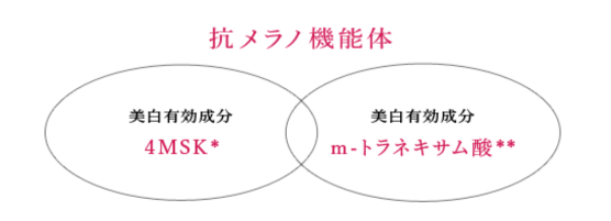 資生堂haku 美白成分